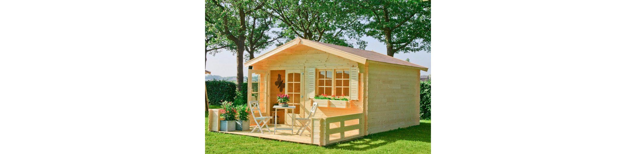 Gartenhaus »Montana 3«, BxT: 390x390 cm