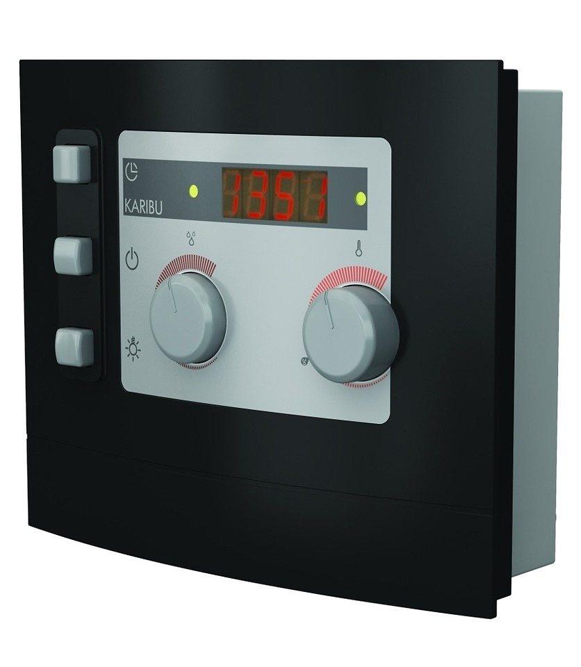 Sauna-Steuergerät »Modern Bio«, für Bio-Öfen, extern in grau