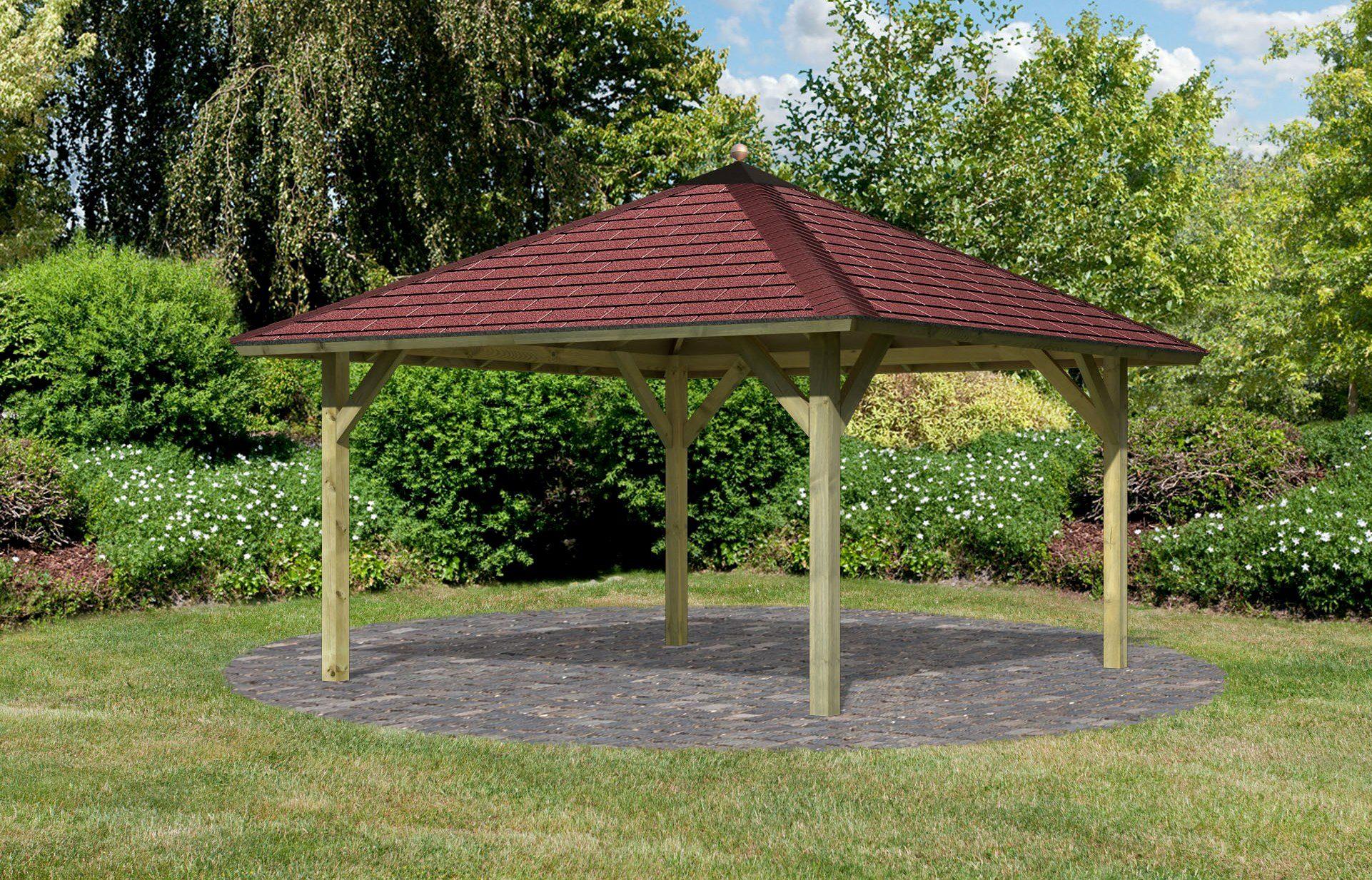 Karibu Sparset: Pavillon-Set »Holm 1«