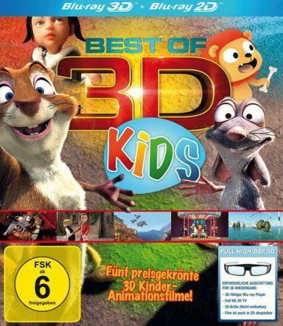 Blu-ray »Best of 3D - Kids (Blu-ray 3D)«