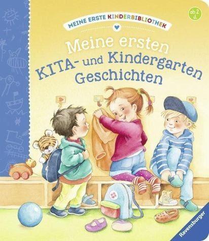 Buch mit Papp-Einband »Meine ersten KITA- und Kindergarten-Geschichten«