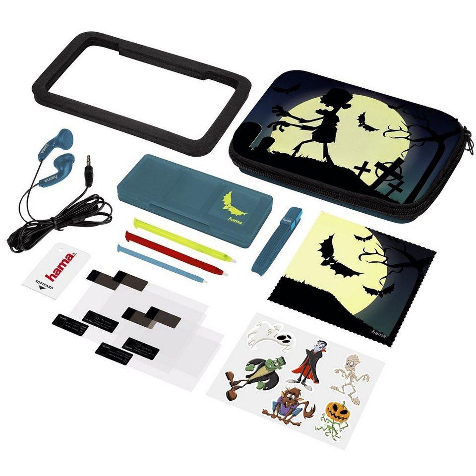 Hama 15in1-Design-Set Undead für Nintendo New 3DS und New 3DS XL in Schwarz