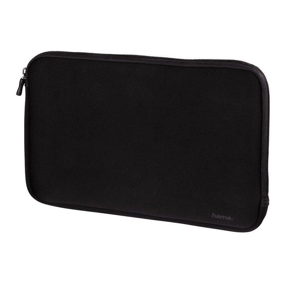 Hama Sleeve Divider für Tablet-PCs mit Tastatur, bis 25,6 cm (10.1) in Schwarz