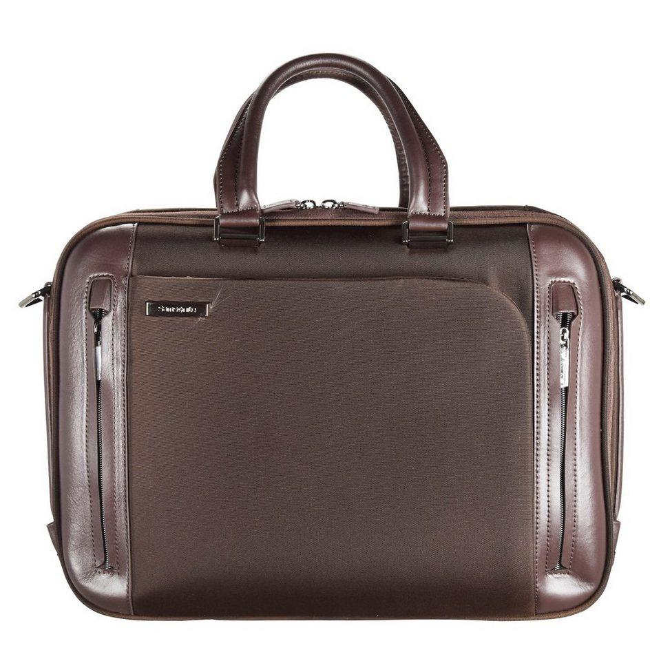 Samsonite Samsonite Business Tech Aktentasche 45 cm Laptopfach in brown