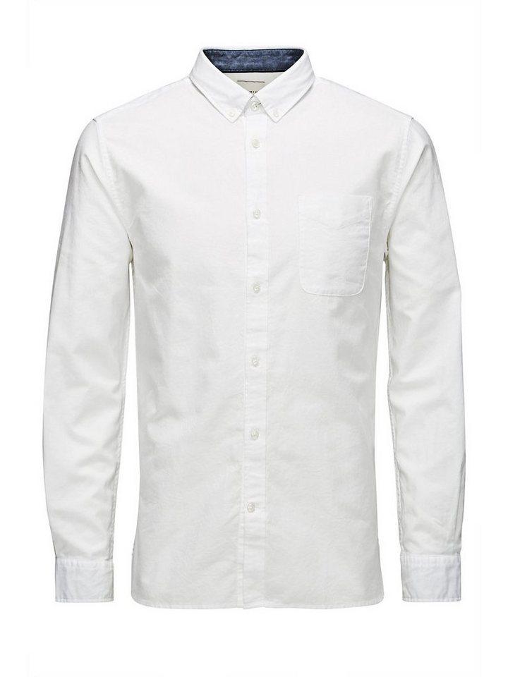 Jack & Jones Klassischer Oxford Freizeithemd in White 1