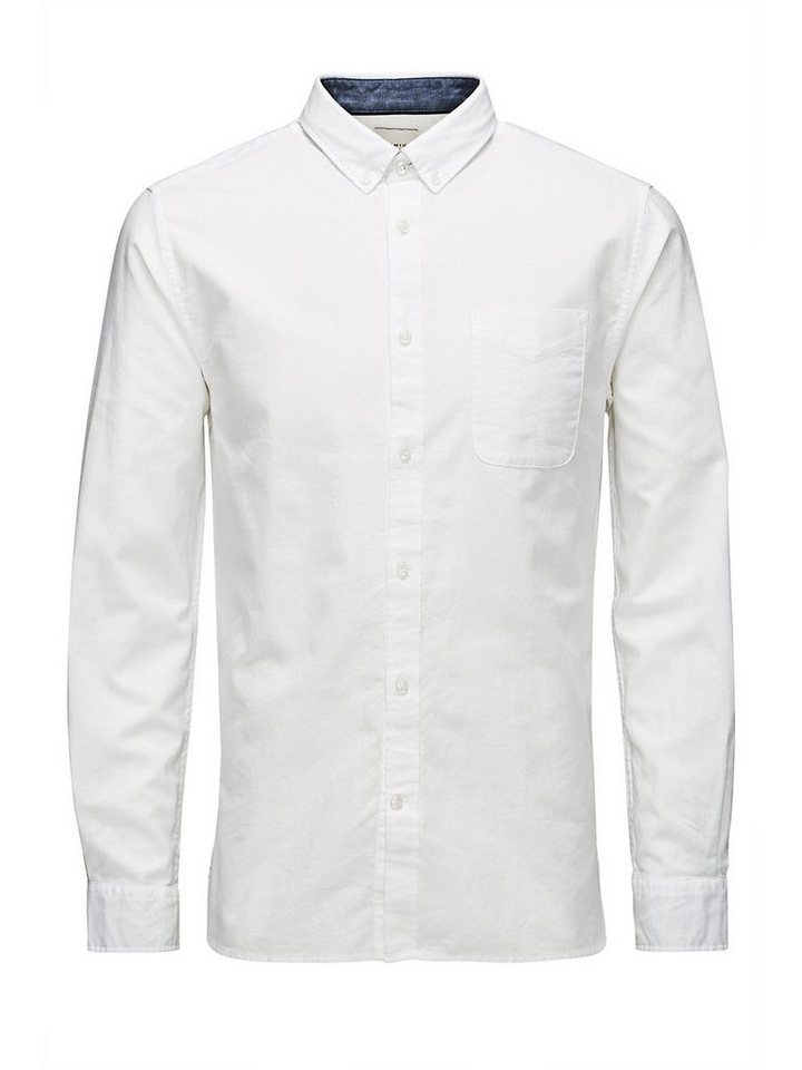 Jack & Jones Langarmhemd in White 1