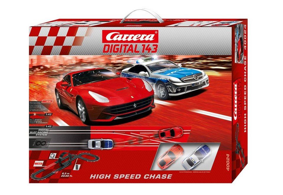 Carrera® Autorennbahn, »Carrera®DIGITAL 143 - High Speed Chase«