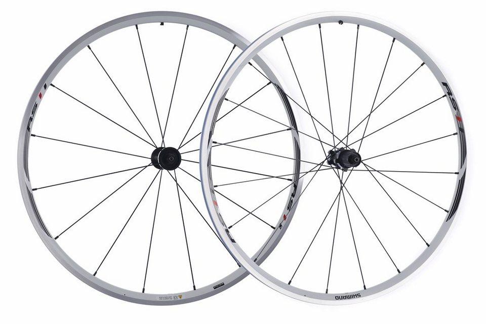 Shimano Laufrad »WH-RS11 Laufradsatz weiß«