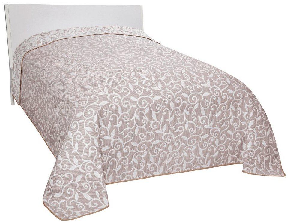tagesdecke bett berwurf online kaufen otto. Black Bedroom Furniture Sets. Home Design Ideas