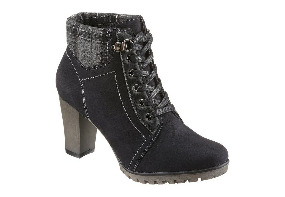 Stiefelette, City Walk in schwarz
