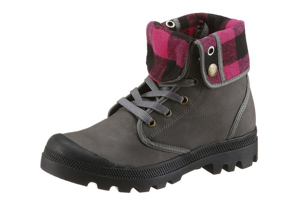 Arizona Boots in Worker-Optik in grau