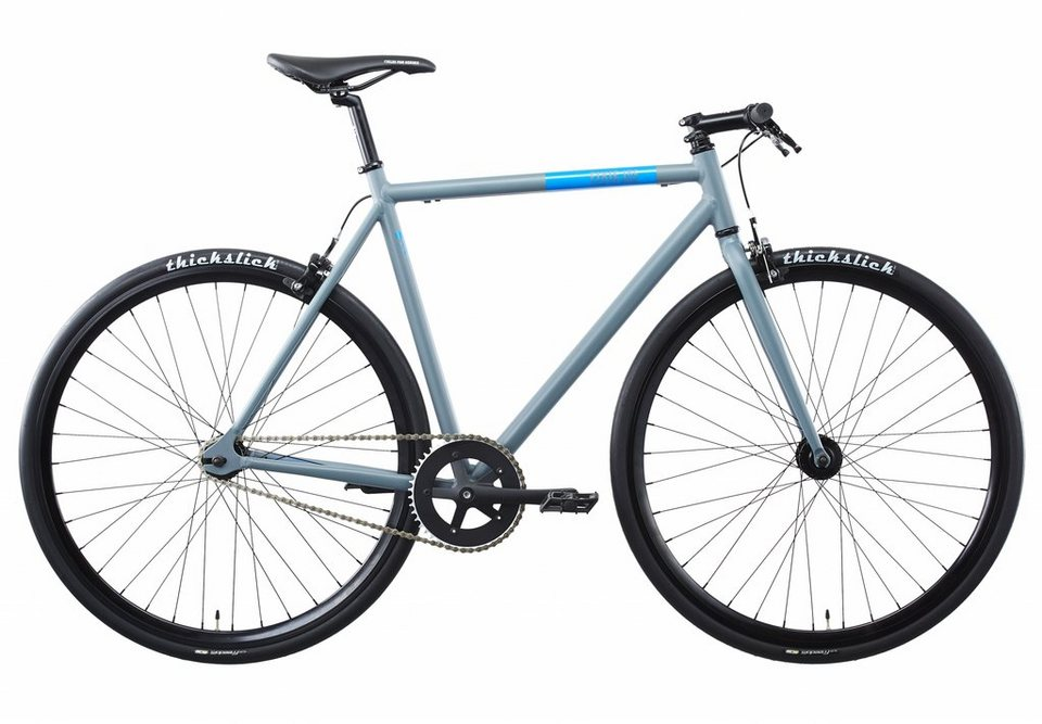 FIXIE Inc. Fahrrad »Floater grey« in grau