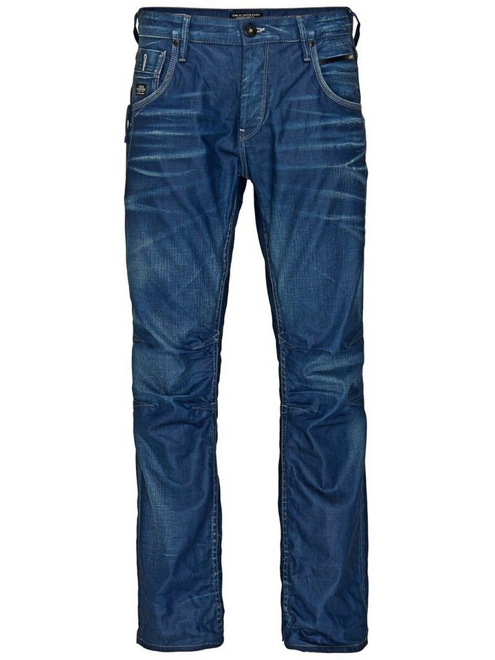 Jack & Jones Boxy Powel JJ 851 Anti Fit Jeans in Blue Denim