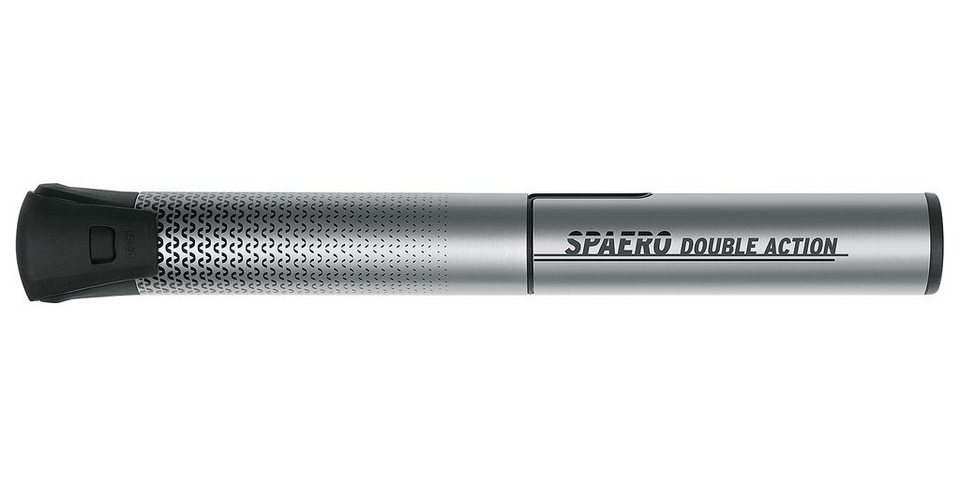 SKS Fahrradpumpe »Spaero Double Action Minipumpe grau«