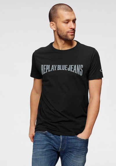 Replay T-Shirt mit Logoprint
