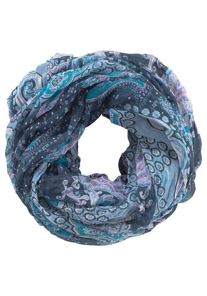 J. Jayz Loop »dekorativ gemustert« in blau