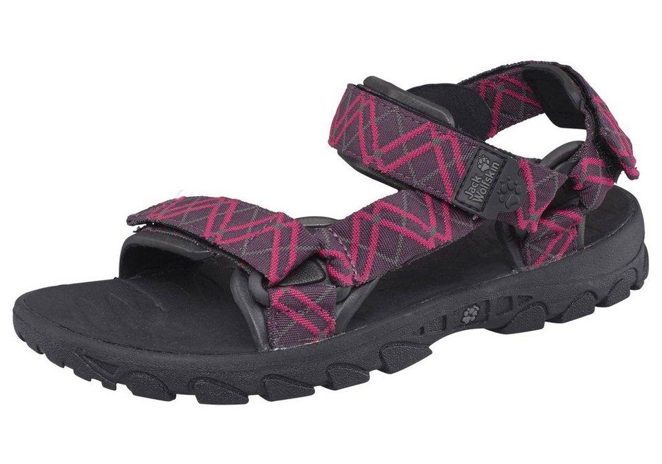 Jack Wolfskin Seven Seas Women Outdoor-Sandale in Violett-Pink