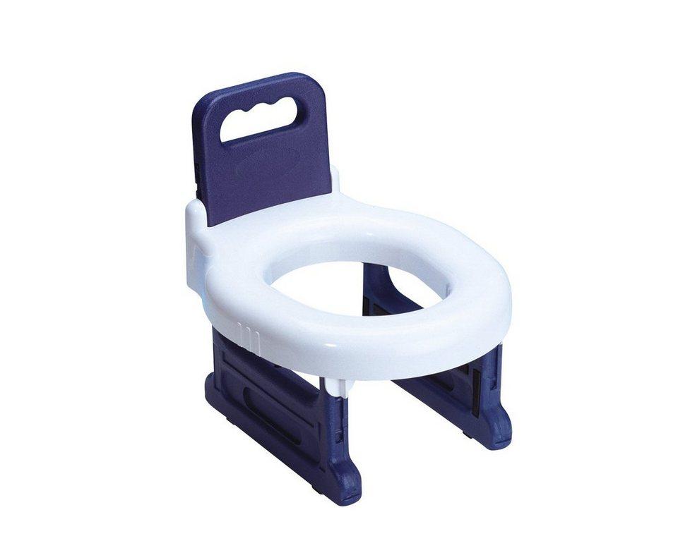 WC-Sitz »Baby-Toilet-Seat« in blau/weiß