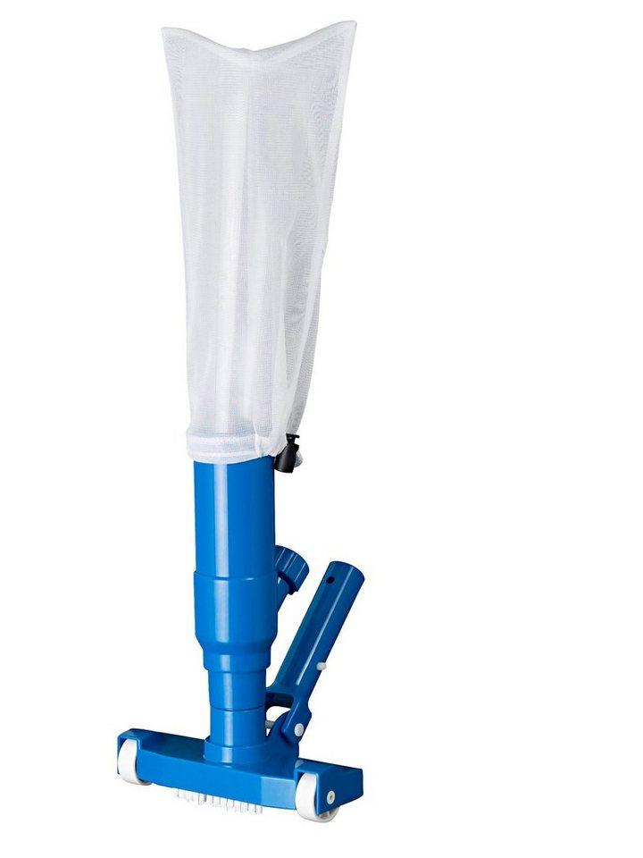 Bodensauger »Magic« + Teleskopstange in blau