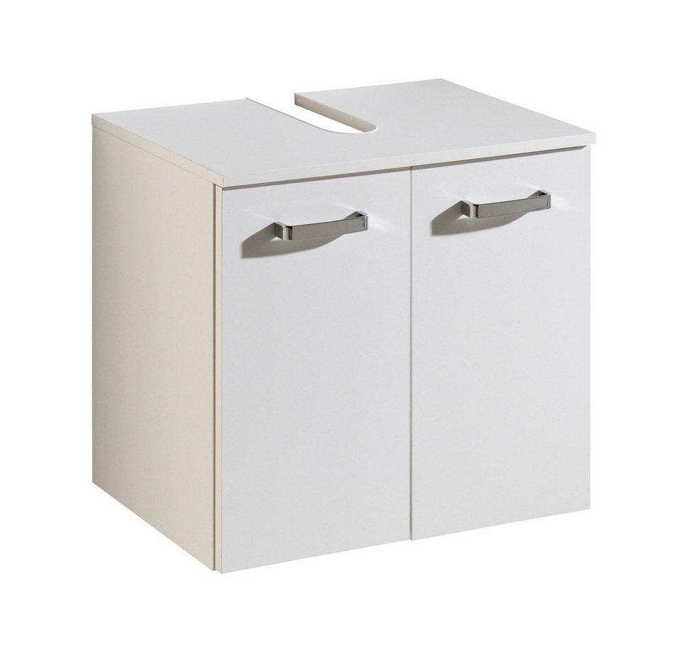 Held Möbel Waschbeckenunterschrank »Kapstadt« 60 cm in weiß
