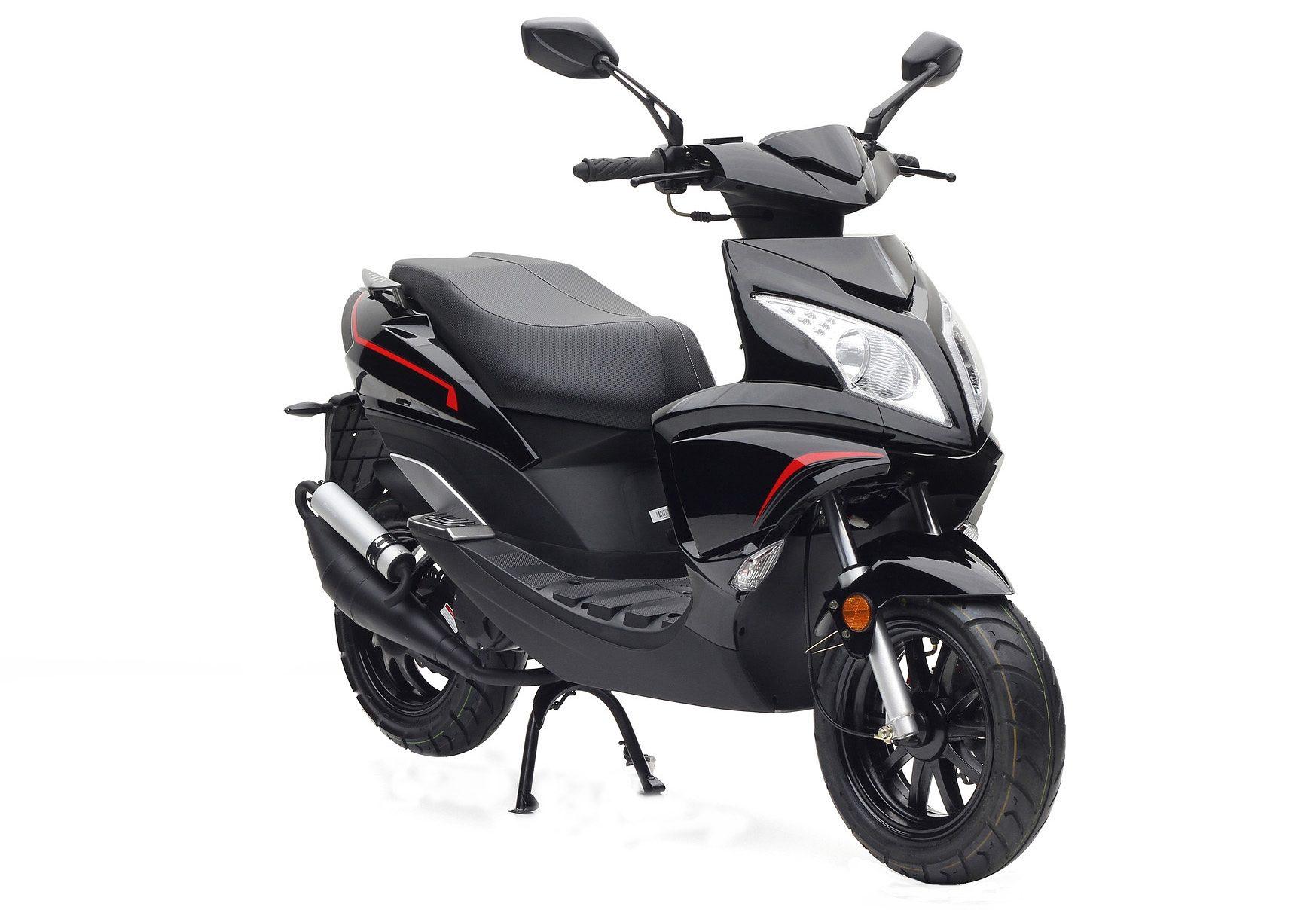 Motorroller, Nova Motors, »Grido«, 50 ccm 45 km/h, schwarz