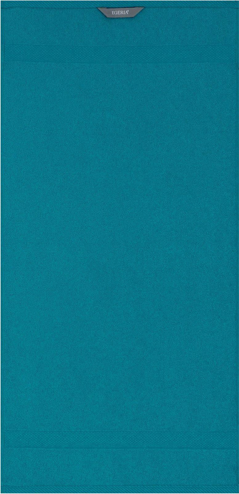 Badetuch, Egeria, »Diamant«, in Uni gehalten - broschei