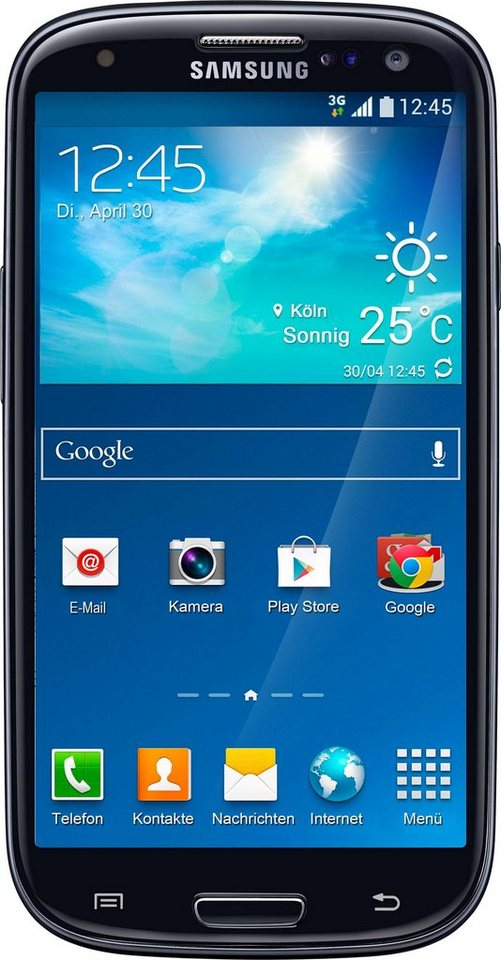 samsung galaxy s iii neo smartphone 12 1 cm 4 8 zoll display android 4 4 8 0 megapixel nfc. Black Bedroom Furniture Sets. Home Design Ideas