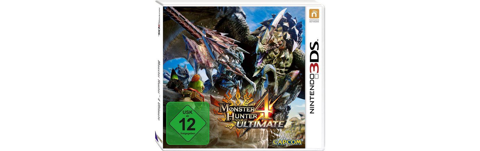 Monster Hunter 4 Ultimate Nintendo 3DS