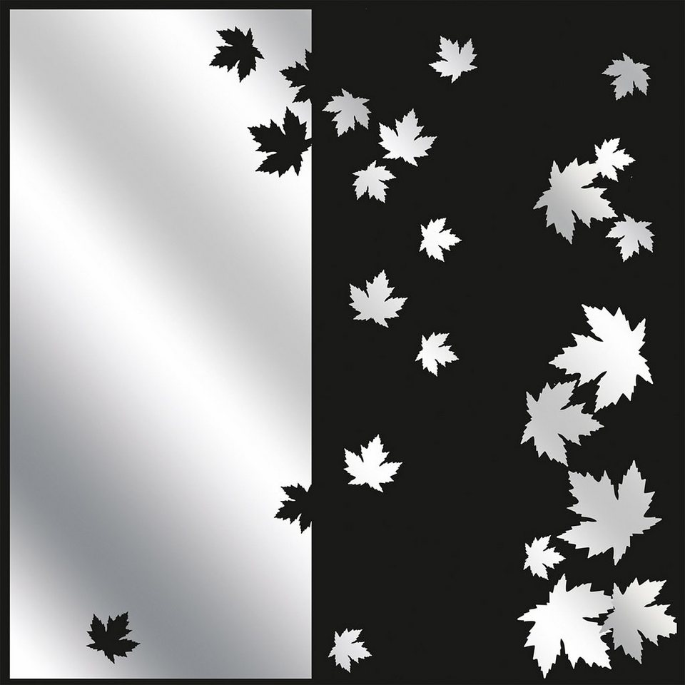 Spiegelnde Wandaufkleber, Eurographics, »See The Autumn Come«, 50/70 cm in silber