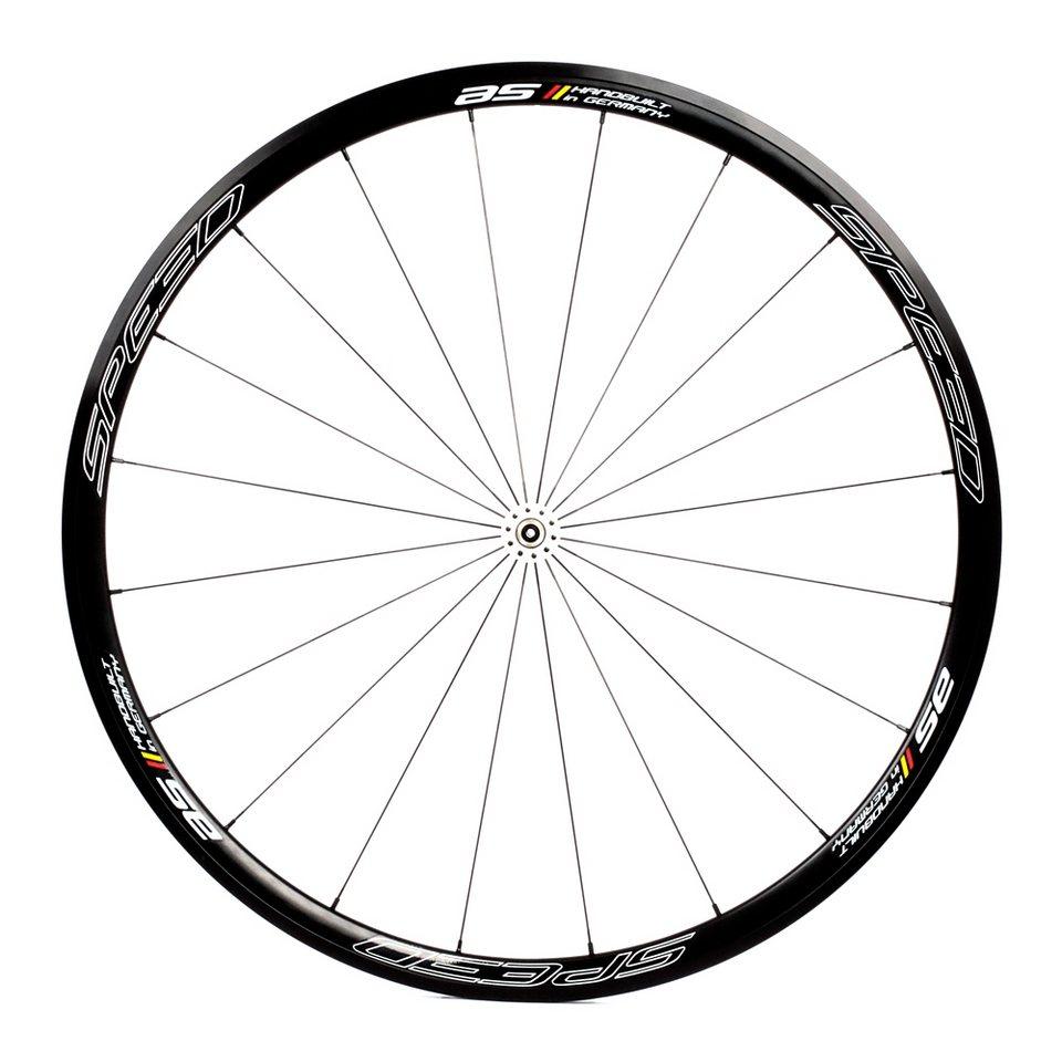 Veltec Laufrad »Speed AS Vorderrad schwarz«