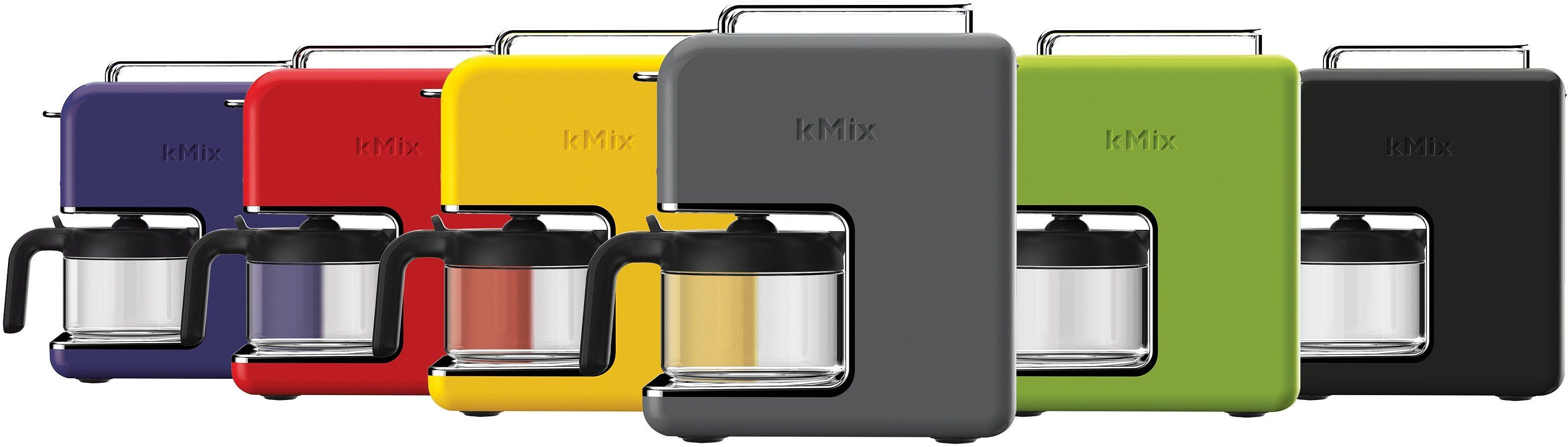 Kenwood Küche Filterkaffeemaschine kMix CM030GY, 0,75l Kaffeekanne, Permanentfilter 1x2