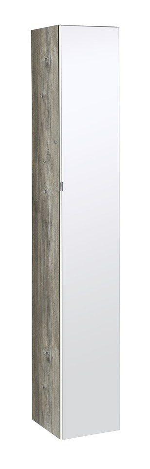 Spiegelschrank »Kapstadt«, Breite 30 cm in eichefarben/weiß