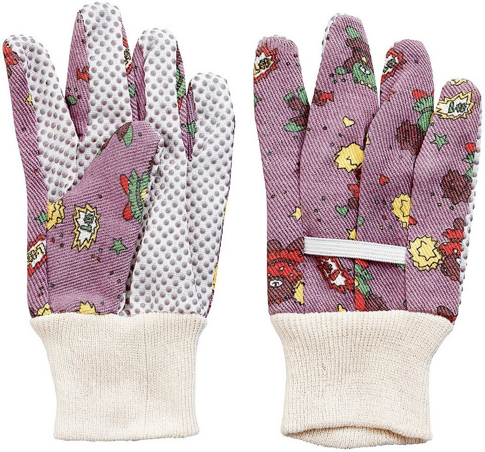 Kinderhandschuh (12 Paar) in lila