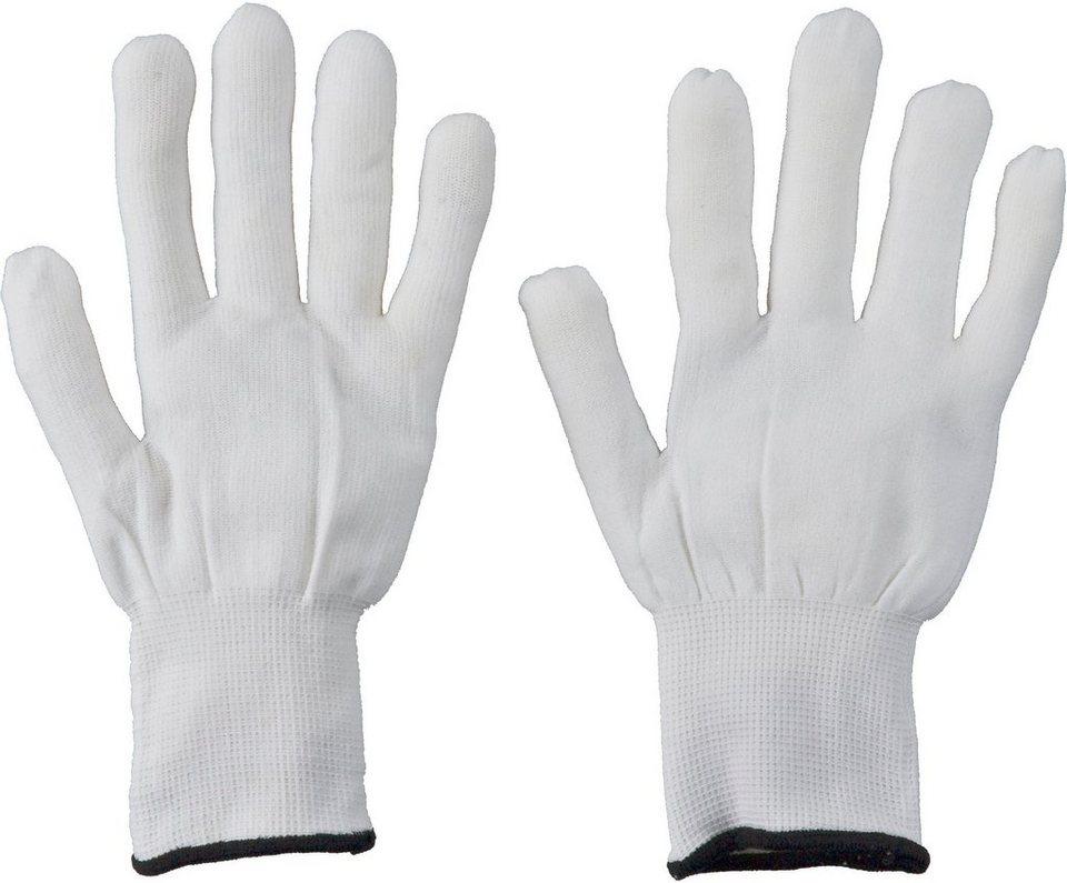 Handschuhe in weiß