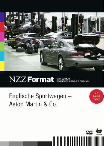 DVD »NZZ Format - Englische Sportwagen: Aston...«