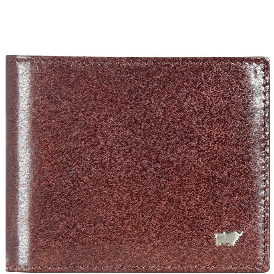 Braun Büffel Gaucho Geldbörse Leder 12 cm in bordeaux