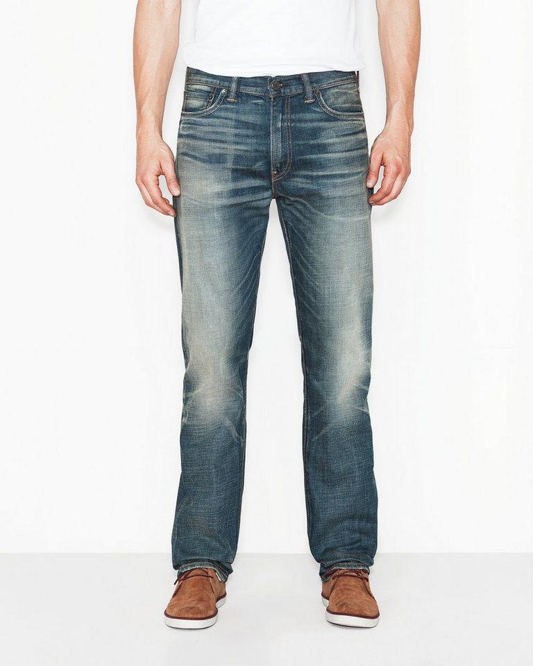 Levi's® Jeans »513 Slim Straight« in mogwai
