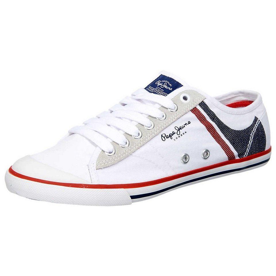 Pepe Jeans Tenis Print Sneakers in blau-kombi