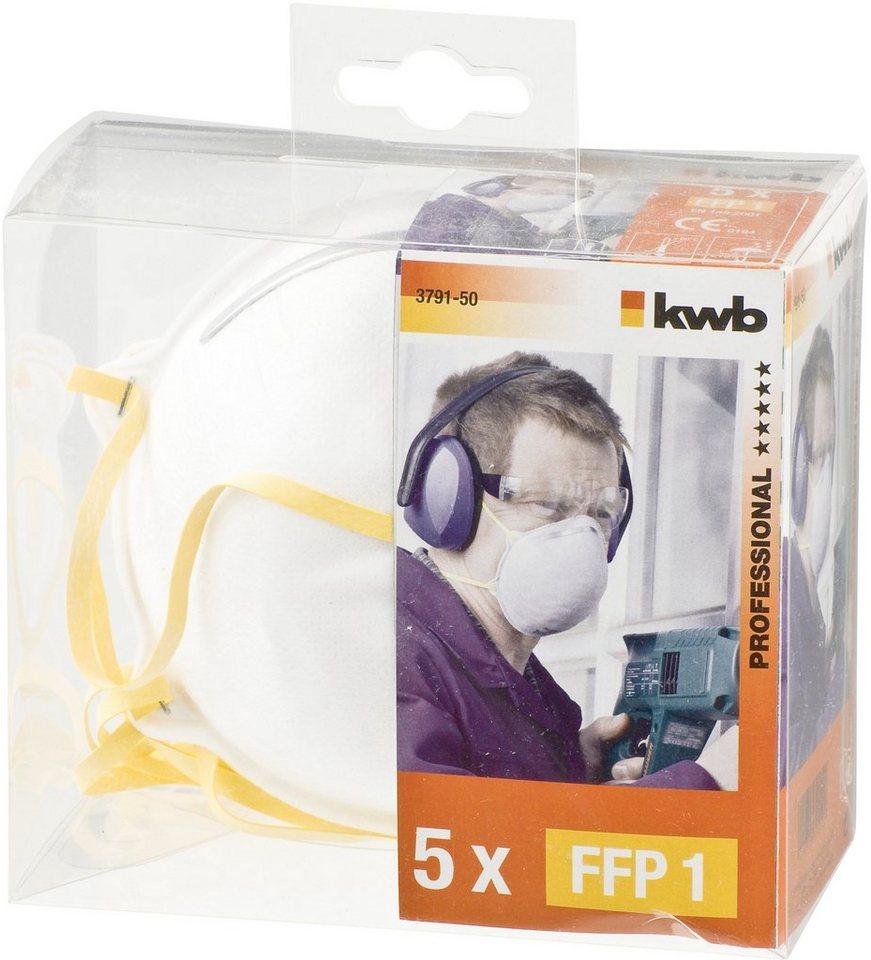 Feinstaubmaske (4 Stück) in weiß