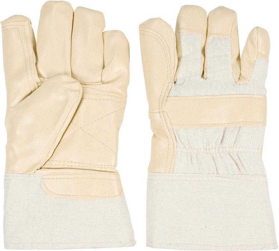 Handschuhe (3 Paar) in natur
