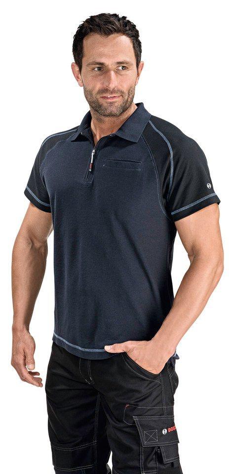 Poloshirt in dunkelblau