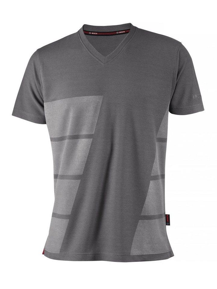 T-Shirt in hellgrau