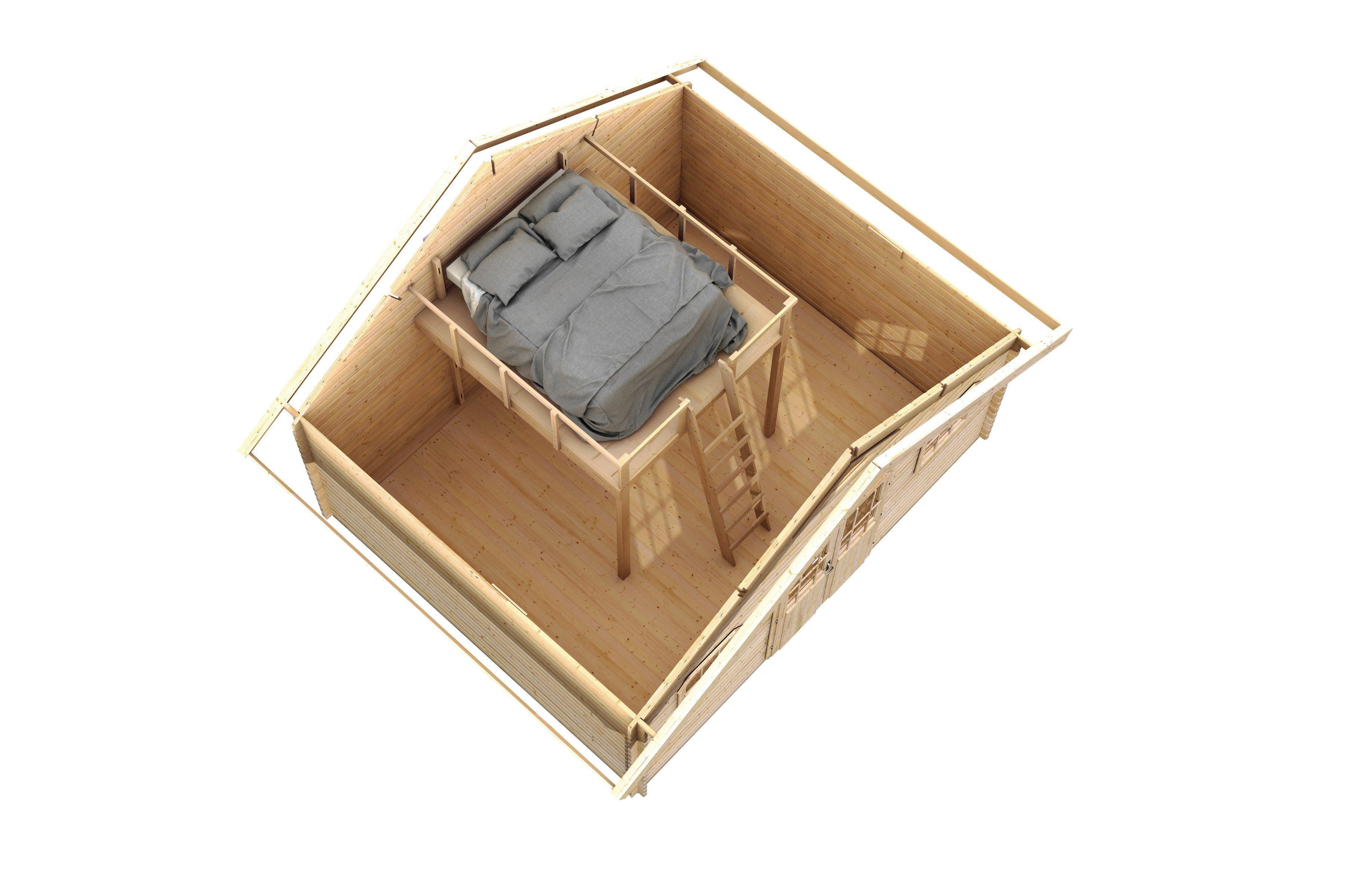 KARIBU Schlafboden , BxTxH: 210x242x200 cm, für Karibu-Produkte