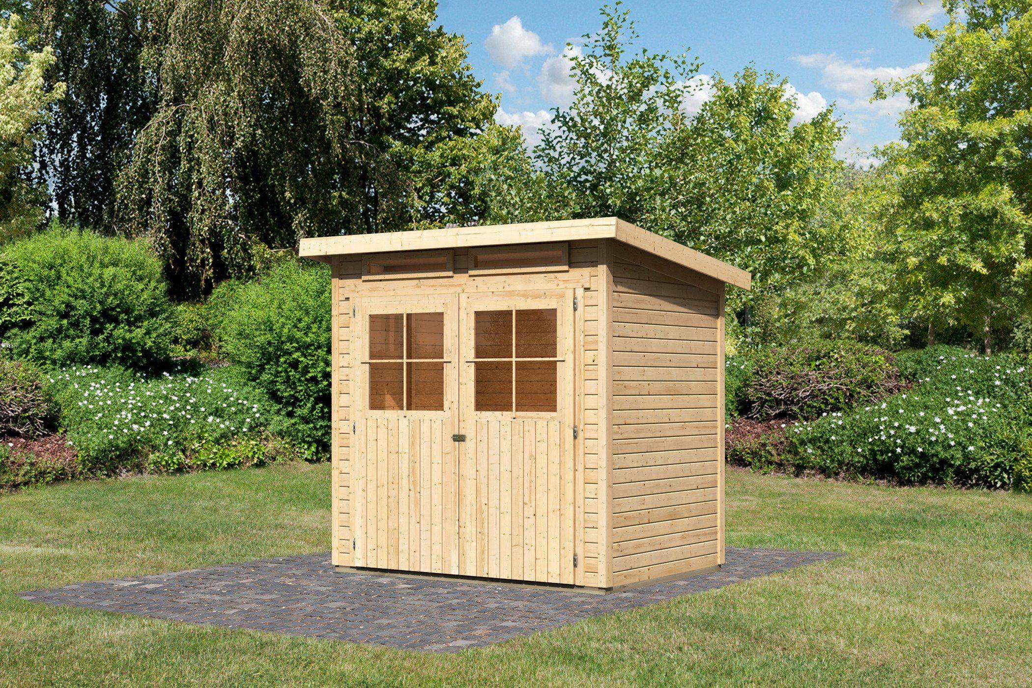 gartenhaus 2m x 3m ar35 hitoiro. Black Bedroom Furniture Sets. Home Design Ideas