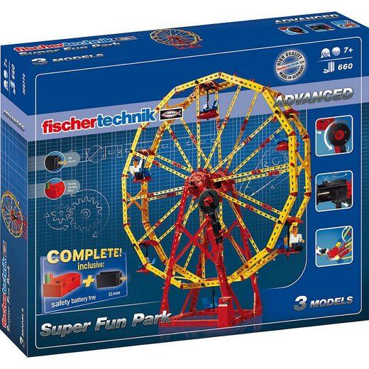 """fischertechnik Spiel, »Fischertechnik ADVANCED """"Super Fun Park"""" Baukasten«"""