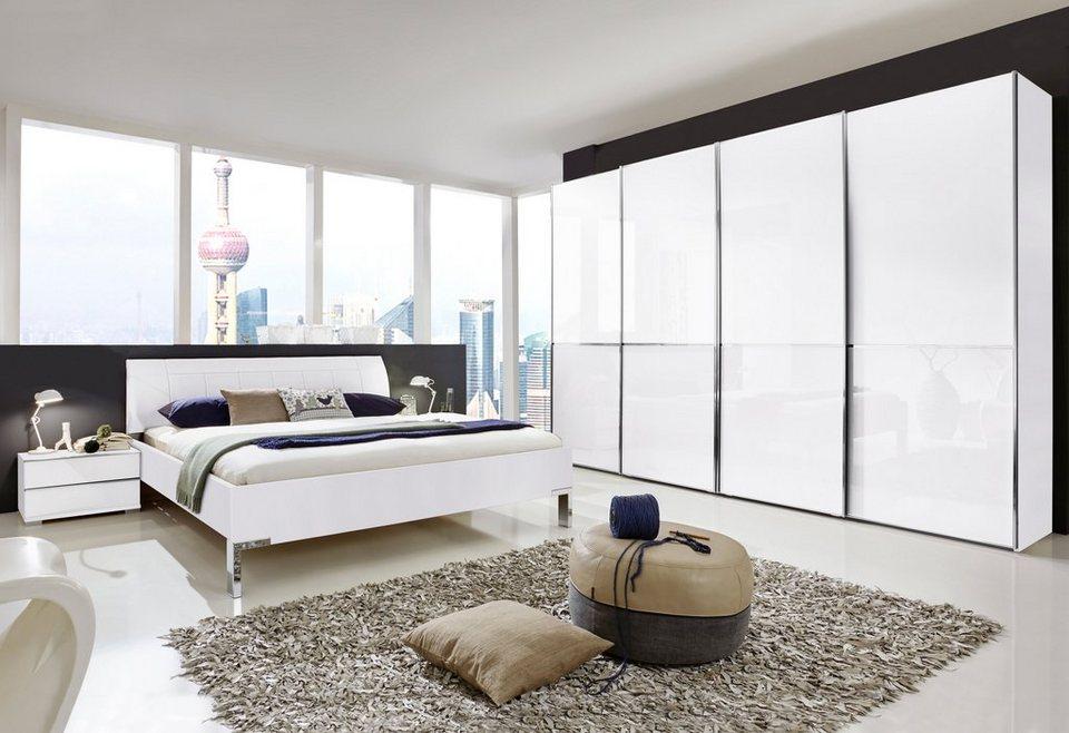 WIEMANN Schlafzimmer-Set, »Shanghai« (4-tlg.), Mit 2-farbigen ...