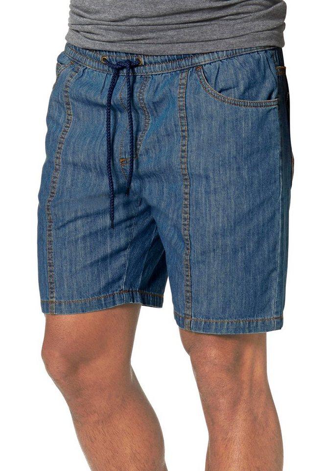 Man's World Shorts in blue-stone