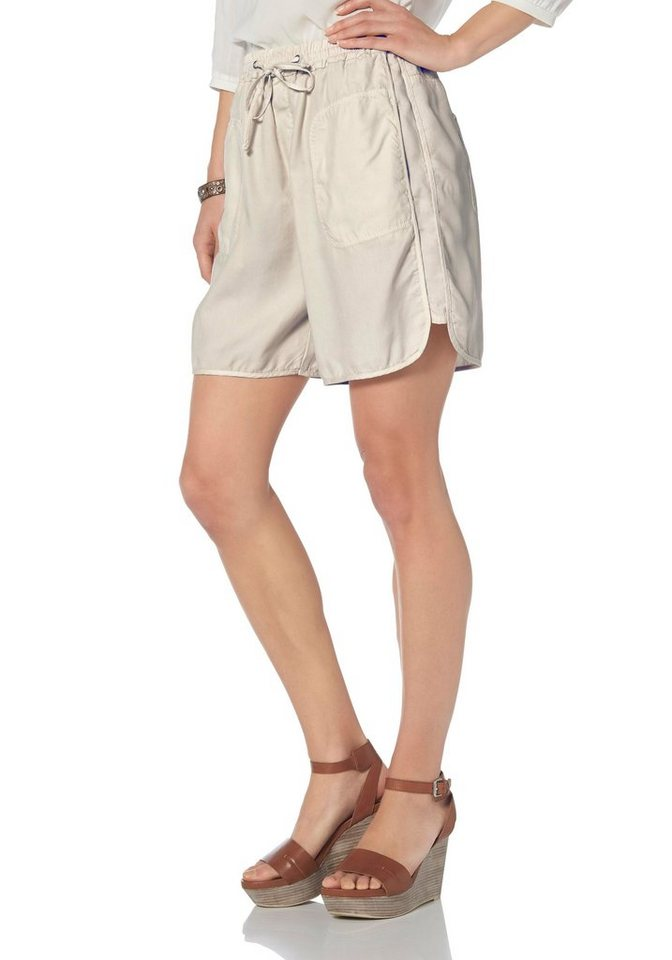 Marc O'Polo Shorts in creme