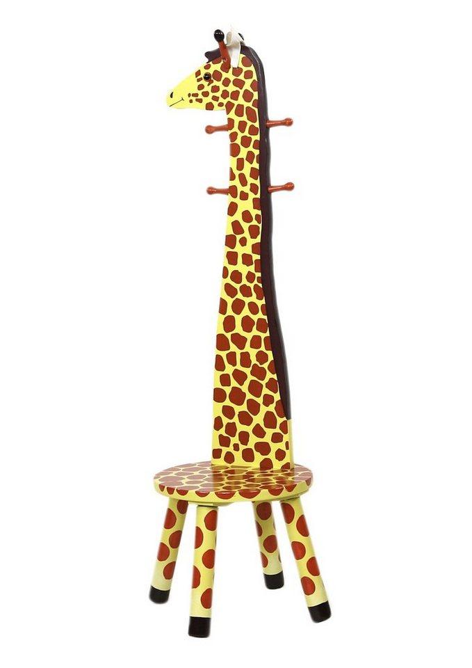 CHIC2000, Fantasy Fields™, Lehnen-Hocker mit Garderobenfunktion »Giraffe«