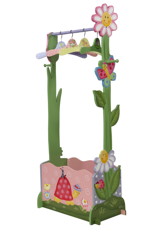 Fantasy Fields™, Garderobe für Kinder mit Kleiderbügeln und Schuhfach, (5tlg.)